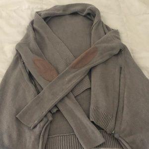 Lululemon drappy open sweater